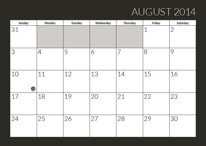 august back